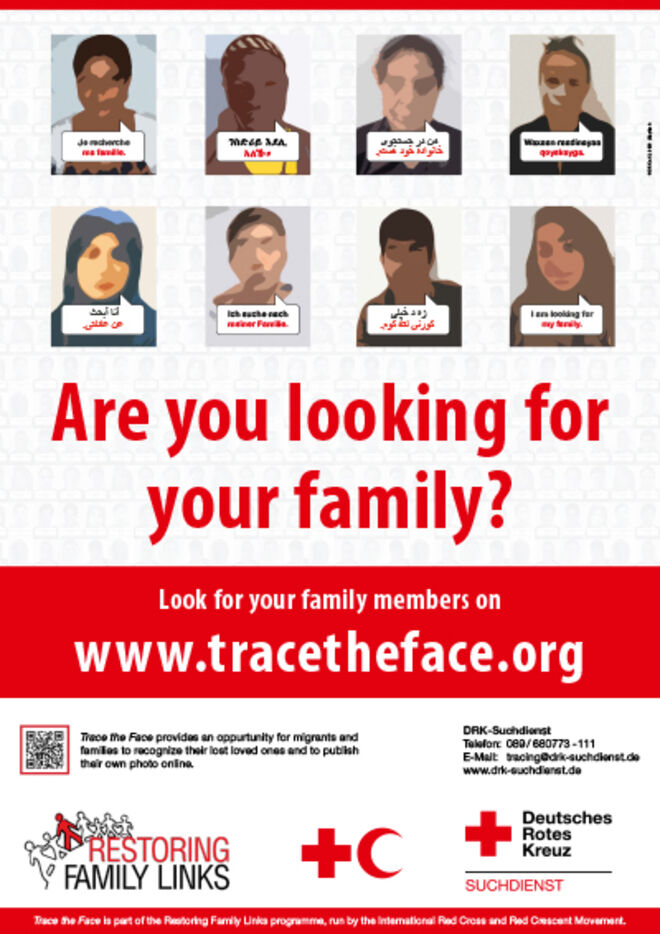 Poster Trace the Face