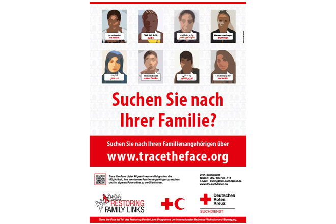 Trace the Face poster